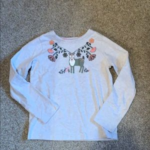 Hanna Andersson girls top size 130